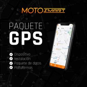 Paquete GPS MotoSmart por 12 meses